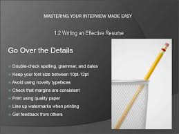 Resume Writing Tips Tutorial Teachucomp Inc