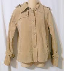 tex by max azria tan suede jacket size medium