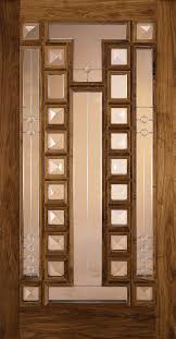 Custom Wood Glass Panel Exterior Door JELDWEN Doors  Windows - Custom wood exterior doors