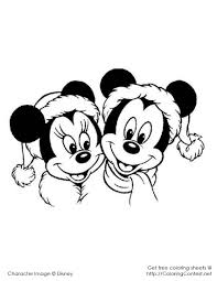 Small Picture Mickey Mouse Coloring Pages Christmas Coloring Coloring Pages