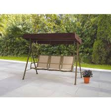 dune outdoor furniture. Mainstays Sand Dune Outdoor Sling Swing With Canopy, Seats 3, Furniture A