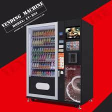 Biggest Vending Machine Manufacturer New China Supplier Snack And Beverage Vending Machine LVX48 China