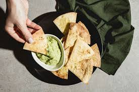 thumbnail for trader joe s new tortilla chips are seasoned with brussels sprouts and i ate