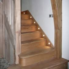 stair case lighting. led home lighting staircase add a motion sensor and this would be good alternative stair case