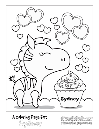 Free Personalized Kids Coloring Pages Keep The Kids Busy