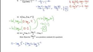 prepossessing log rules worksheet you logarithmic equations doc maxresde logarithmic equations worksheet worksheet large