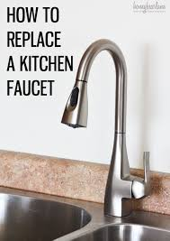 How To Replace A Kitchen Floor Replacing A Kitchen Faucet Seoyekcom