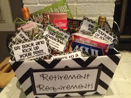 retirement requirements gift basket retirement retire gifts great gift ideas org retirement gifts