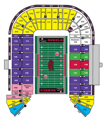 Tickets Parking Unlv Rebel Athletic Fund