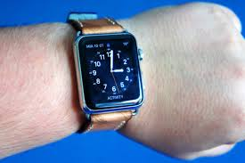 the handmade quality of this leather band from strapley gives your apple watch that luxe feeling photo ste smith cult of mac