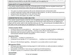 Additional Skills Resume Examples Download By Additional Skills