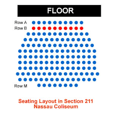 Nassau Veterans Coliseum Seating Chart Nassau Veterans Memorial Coliseum Seating Chart Meticulous