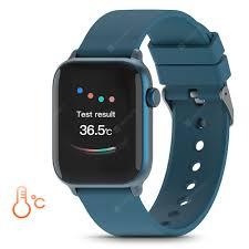 <b>TICWRIS GTS Real-time</b> Body Temperature Detect Smart Watch ...