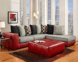 Red Living Room Furniture Sets Sierra Red Sectional Living Room Furniture Sets