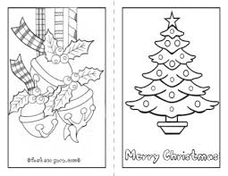 Printable Christmas Cards For Children To Color Fun For Christmas