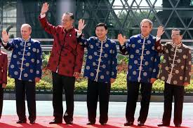 no president rocks apec fashion like george w bush photo essay no president rocks apec fashion like george w bush