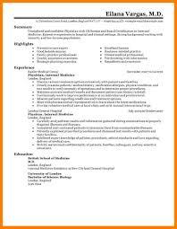 Best Photos of Medical CV Template   Medical Curriculum Vitae     Residencypersonalstatements net