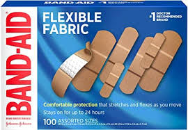 Band-Aid Brand Flexible Fabric Adhesive Bandages ... - Amazon.com