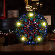 Diamond Painting Light Box Diy Mandala Led Diamond Painting Light Box Cross Stitch Embroidery Lamp
