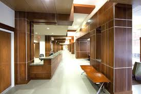 interior design of office. Wood Wall Design Office Good Recessed Ceiling Ideas Modern Decoration With Solid Interior Of
