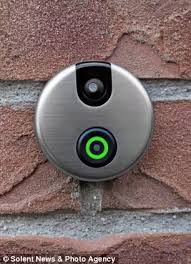 wireless front door cameraiDoorCam App Doorbell with camera and motion sensors shows whos