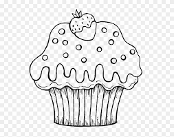 For kids & adults you can print cupcake or color online. Cupcake Coloring Page For Kids Cupcake Coloring Pages Clipart 1981404 Pikpng