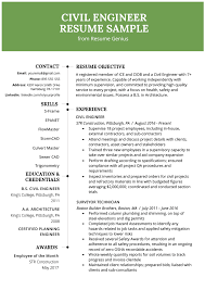 When should you include a declaration in your resume? Civil Engineering Resume Example Writing Guide Resume Genius