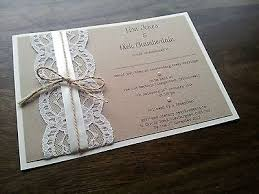 25 best handmade wedding ideas on pinterest handmade wedding Personalised Handmade Wedding Cards handmade vintage shabby chic rustic lace and twine wedding invitation personalised handmade wedding cards