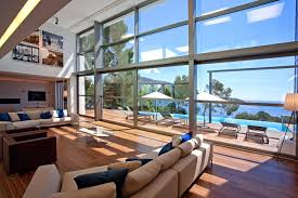 modern mansion living room. Living Room In Modern Mansion On The Cliffs Of Mallorca