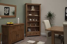 Rustic Furniture Living Room Tilson Solid Rustic Oak Living Room Office Furniture Large