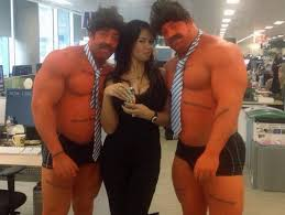 """Laurie Hadleigh on Twitter: """"Only two of us have a natural tan...  @DrinkTango #tangoisabigdeal #Anchorman2 http://t.co/m5uRVR8UTb"""""""