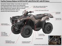 2018 honda 500 foreman.  2018 2018 honda rubicon deluxe dct  eps atv review  specs trx500fa7  horsepower torque and honda 500 foreman o