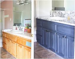 painting bathroom vanity before and after. bathroom vanity makeover with chalkworthy antiquing paint - ask anna painting before and after e
