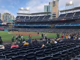 Petco Park Seating Chart Field Box Petco Park Section 116 Home Of San Diego Padres