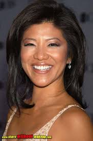 julie chen without makup