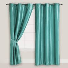 um size of curtain green grommet curtains meridian thermabacktm blackout curtain panels lace lime green