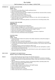 Food Runner Resume Food Runner Resume Samples Velvet Jobs 1
