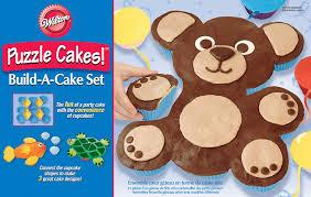 Puzzle Cake Designs Amazon Com Animal Puzzle Cakes Build A Cake Set Novelty