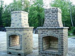 cost to build outdoor fireplace how an large size labor much does it brick porch fi