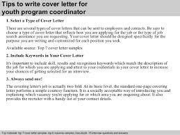 Cover L Best Picture Youth Program Coordinator Cover Letter Resume