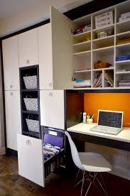modern file cabinet home with built in office storage built office storage