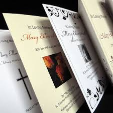 Image result for PRINTED ORDER OF SERVICE