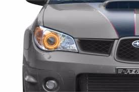 2006 Wrx Fog Light Kit Fitted Halos Profile Prism Rgb Color Changing Led