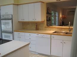 Wood Trim Kitchen Cabinets Wood Trim Around Kitchen Backsplash Home