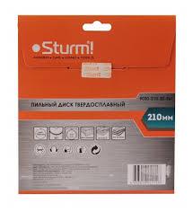 Купить Пильный <b>диск Sturm</b>! <b>9020-210-30-36T</b> 210х30 мм по ...