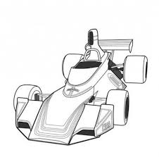 Small Picture Fittipaldi F5A F1 Classic Race Car Coloring Page Free Online