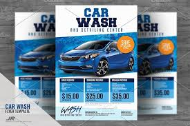 Car Wash Services Flyer ~ Flyer Templates ~ Creative Market