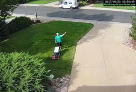 lawn mowing reminder