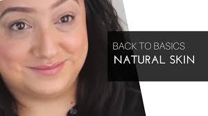 natural skin makeup tutorial