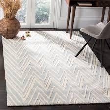 safavieh cambridge grey ivory wool contemporary area rug